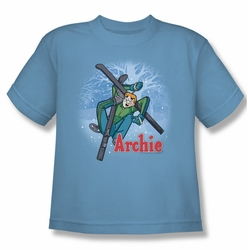 Archie Comics youth teen t-shirt Bunny Hill carolina blue
