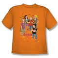 Archie Comics youth teen t-shirt Colorful orange