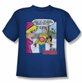 Archie Comics youth teen t-shirt Crazy Sweater royal