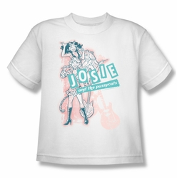 Archie Comics youth teen t-shirt Glam Rockers white
