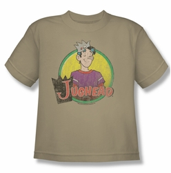 Archie Comics youth teen t-shirt Jughead Distressed sand