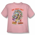 Archie Comics youth teen t-shirt One Night Only pink