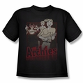 Archie Comics youth teen t-shirt Perform black