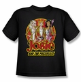 Archie Comics youth teen t-shirt Power Trio black