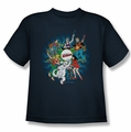 Archie Comics youth teen t-shirt Psychadelic Archies navy
