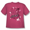 Archie Comics youth teen t-shirt Star Rockers hot pink
