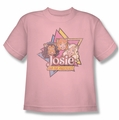 Archie Comics youth teen t-shirt Stars pink