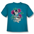 Archie Comics youth teen t-shirt Veronica Tattoo turquoise
