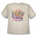 Archie Comics youth teen t-shirt With The Band cream