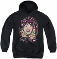 Archie Comics youth teen hoodie Inside V's Head black