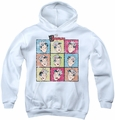 Archie Comics youth teen hoodie Jug Heads white