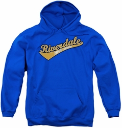 Archie Comics youth teen hoodie Riverdale High School royal blue