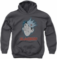 Archie Comics youth teen hoodie Slacker charcoal