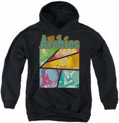 Archie Comics youth teen hoodie The Archies Colored black