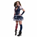 Arkham Asylum Harley Quinn Dress adult costume
