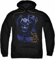 Arkham Asylum pull-over hoodie Bane adult black