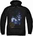 Arkham Asylum pull-over hoodie Killer Croc adult black