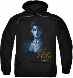 Arkham Asylum pull-over hoodie Poison Ivy adult black