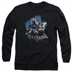 Arkham City adult long-sleeved shirt Joke's On You! black