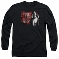 Arkham City adult long-sleeved shirt So Much Ugly black