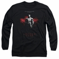 Arkham City adult long-sleeved shirt Standing Strong black