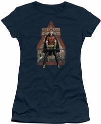 Arkham City juniors t-shirt Arkham Robin navy