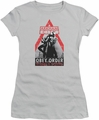 Arkham City juniors t-shirt Obey Order silver