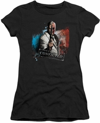 Arkham City juniors t-shirt Two Face black