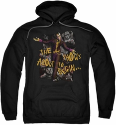 Arkham City pull-over hoodie About To Begin adult black