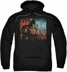 Arkham City pull-over hoodie City Knockout adult black