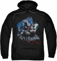 Arkham City pull-over hoodie Joke's On You! adult black
