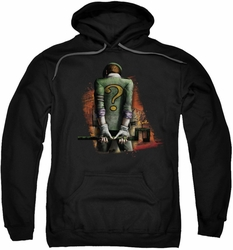 Arkham City pull-over hoodie Riddler Convicted adult black