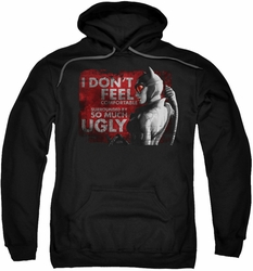 Arkham City pull-over hoodie So Much Ugly adult black