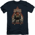 Arkham City slim-fit t-shirt Arkham Robin mens navy