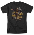 Arkham City t-shirt About To Begin mens black