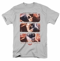 Arkham City t-shirt All In mens silver