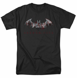 Arkham City t-shirt Bat Fill mens black