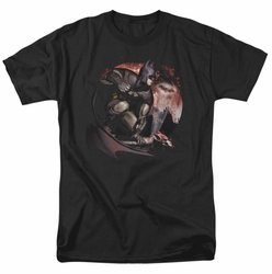 Arkham City t-shirt Blood Moon mens black