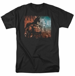 Arkham City t-shirt City Knockout mens black