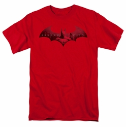 Arkham City t-shirt In The City mens red