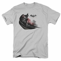 Arkham City t-shirt Ready To Pounce mens silver