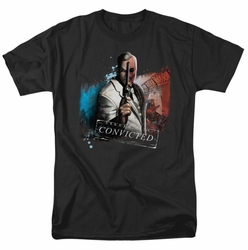 Arkham City t-shirt Two Face mens black