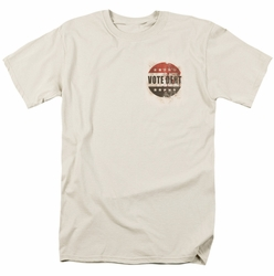 Arkham City t-shirt Vote Dent mens cream