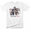 Arkham City t-shirt We Want You mens white
