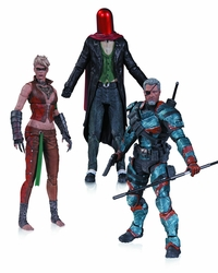Arkham Origins 3 Pack Deathstroke Joker Copperhead