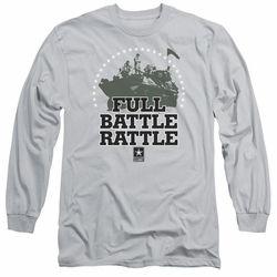 Army adult long-sleeved shirt Full Battle Rattle silver