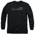 Army adult long-sleeved shirt Helicopter black