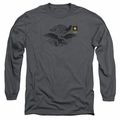 Army adult long-sleeved shirt Left Chest charcoal
