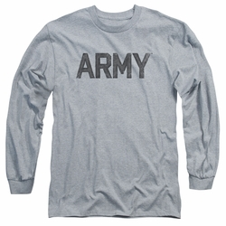 Army adult long-sleeved shirt Star athletic heather