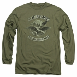 Army adult long-sleeved shirt Union Eagle military green